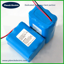 Rechargeable 7.4v 6600mah li-ion battery 18650 lithium ion battery pack