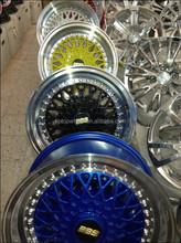 Replica BBS rs alloy wheels 13 14 15 16 17 18 19 inch colour rims