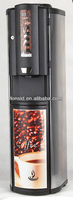 Floor Standing electric fruit juice coffee powder hot cold drink machine dispenser with refrigerater