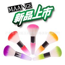 long handle Soft Nail Dust Brush Manicure Tool Cosmetic Brush