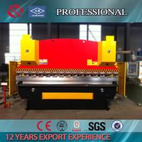 CNC 160tons press brake hydraulic 4000mm steel metal bender machine