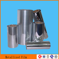 40 micron metallized cast polypropylene film