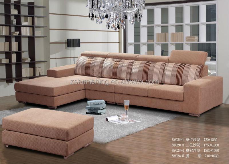 2015 hot sale Chenille jacquard Fabric Sofa,chaise lounge sofa,sofa