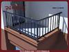 exterior veranda aluminum railing profile rail