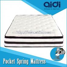 Good Quality Memory Foam Pocket Spring Mattress, Convoluted Foam Mattress Bedroom Sets AG-1305