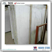 Oriental white hot sale marble polished slab with competitive price