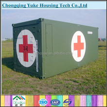 Made in China Better soundproof waterproof green house/ambulance house for sale