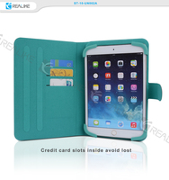 Book style ultra slim stand tablet case cover for ipad air 2