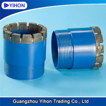 Surface set rock geological diamond core drill bits machines to dig wells