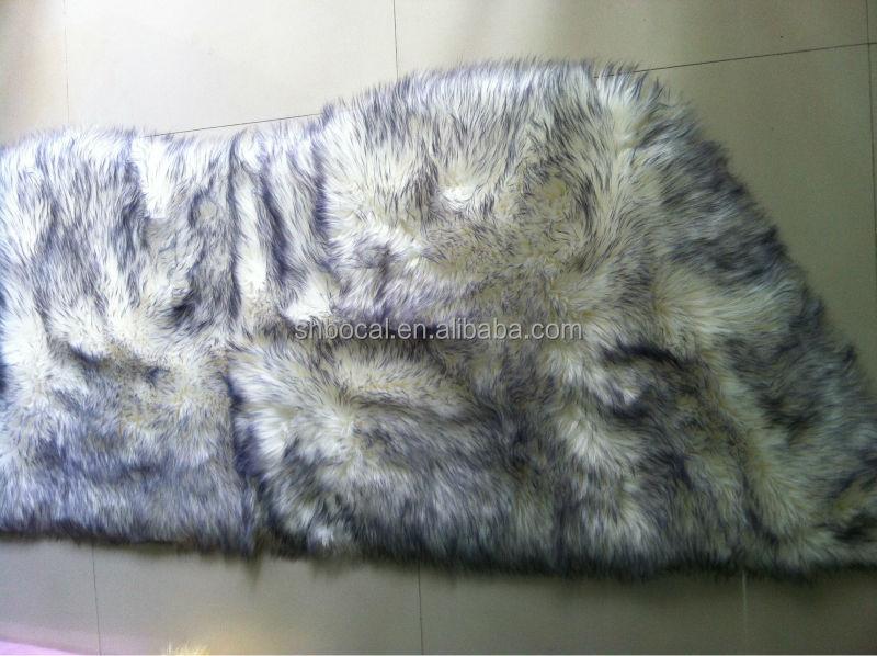 de longs cheveux tapis de fausse fourrure fourrure synth tique id de produit 500002598401 french. Black Bedroom Furniture Sets. Home Design Ideas