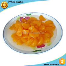 high quality canned orange in light syrup Chinese seasonal canned fruit