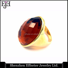 Most Updated Ruby Ring Hot Sell High-end Man Ring With Ruby