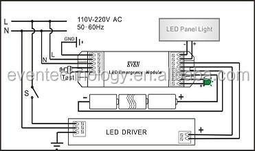 Emergency led tube module20w emergency converter led 20w emergency low voltage emergency pack wiring diagram asfbconference2016 Choice Image