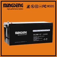 Sealed Sealed Type battery 12v 200ah gel backup power ups for wholesales