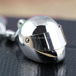 Helmet Keychain Motorcycle Bicycle Casque Key Chain nice key chain/key holder