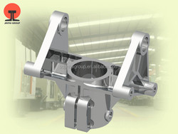 China OEM Metal Processing Machinery Parts Al Alloy Baseboard/Rotating Seats