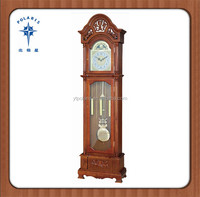 18th Century Classic Decorative Wooden Grandfather Floor Standing Clock