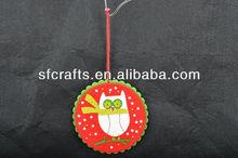 2014 christmas felt ornament,handmade pure wool felt craft christmas decoration Manufacturer