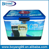 Vintage Ice Insulated Metal Cooler Box