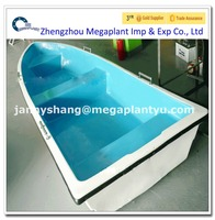 fishery used small fiberglass fishing boat with cheap price