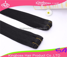 Hot sale top grade kinky straight synthetic hair weft factory Supply brazilian hair/peruvian hair/malaysian hair