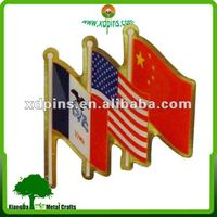 Fctory direct customization international flag metal lapel pins use national day gifts