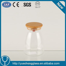 Kitchen Storage Fashion Handmade Unique Pyrex Glass Candle Jar
