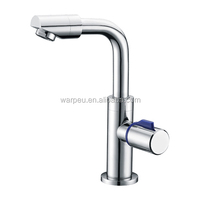 Chrome Brass Kitchen Faucet Sink Tap