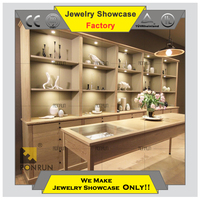 Hot 2015 retail store display cabinet jewelry armoire wall mount jewelry display