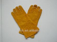 welding glove,safety glove, glove, long sleeve