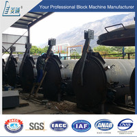 Industrial equipments for all sizes of autoclaved aerated concrete block for wholesales
