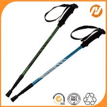 Korea 7075 Aluminum trekking pole with EVA cork grip