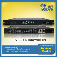 Headend System Decoder Satellite Receiver Internet/HD IRD(DVB-S/S2/T/C)