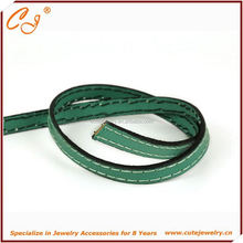 manufacturer jewelry Rope ends / leather crimp ends /crimp end for leather Rope, 8mm round leather rope