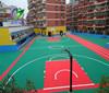 China Basketball Flooring/PP basketball sport flooring tiles