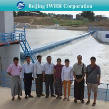 Rubber Dam/Weir Design/Construction/Installation/Commissioning