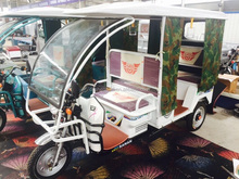 Open Body Type and Passenger Use For India electric rickshaw