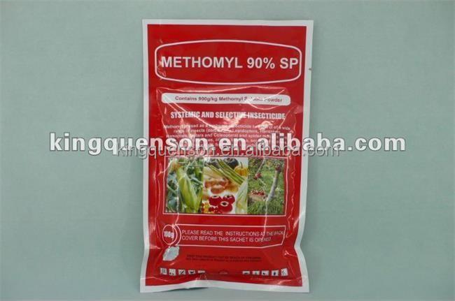 Fábrica de pesticidas metomilo 90% SP agricultura productos químicos