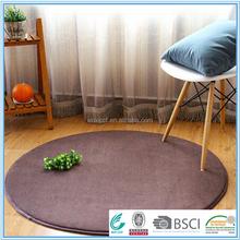 fair and lovely price purple round modern microfiber rug mat