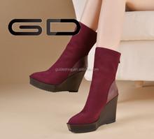 Latest design girls wedge sandal women shoes fashion wedge women sandals shoes 2014