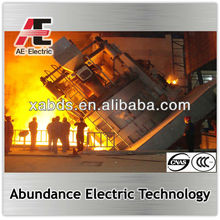 Small capacity 5ton electric arc melting furnace EAF for melting iron and steel scrap