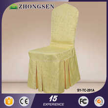 New Arrival Modern fashion wedding chair covers and sashes for sale