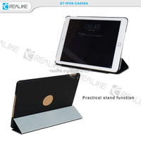 Made in Factory Retro Fashion PU Leather Stand Smart Cover Folio Case For Apple iPad Air 2