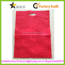 2015 Hight quality accept custom non woven shopping bag