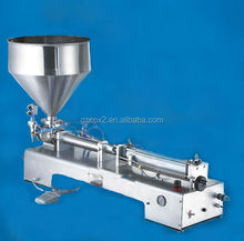 spx semi automatic cosmetic or liquid dual use filling machine