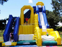 2014 newest design Jump & Slide Inflatable Combo Game