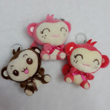 Excellent quality best selling plush pink monkey stuffed toys