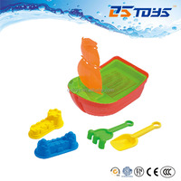 High Quality Promotion Beach Toy Plastic Toy Sailing Boat