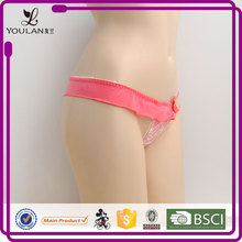 Unique new design factory direct sell women girls in thongs g strings