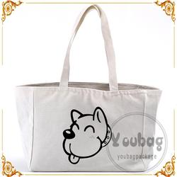 Cheap new design wholesale plain canvas tote bags with low price